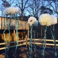 exposition créations végétales parc de courzieu